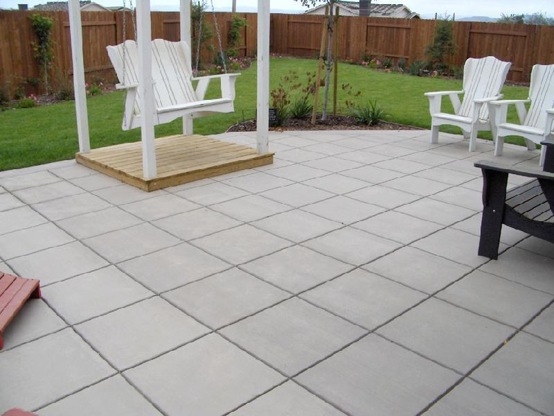 Tile Pattern Patio