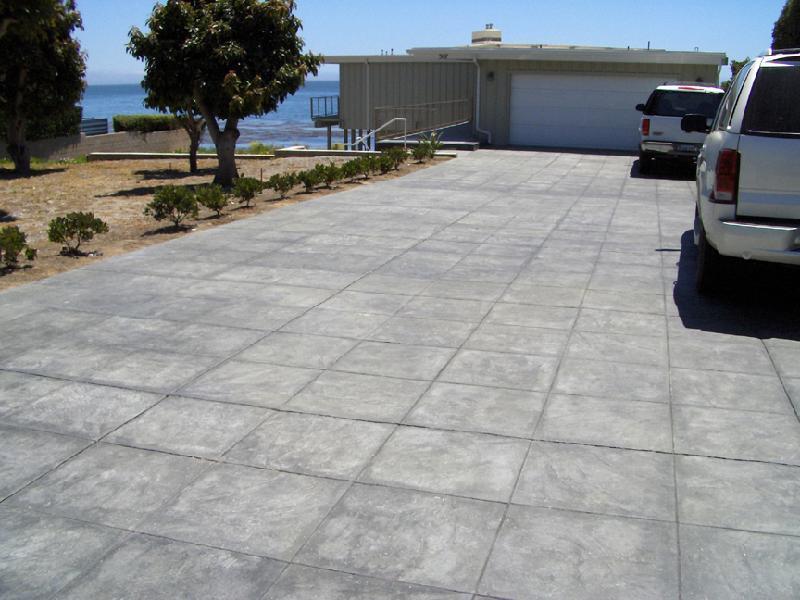 Tile Slate Driveway - Gray