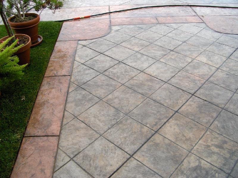 Tile Slate Pattern with Border