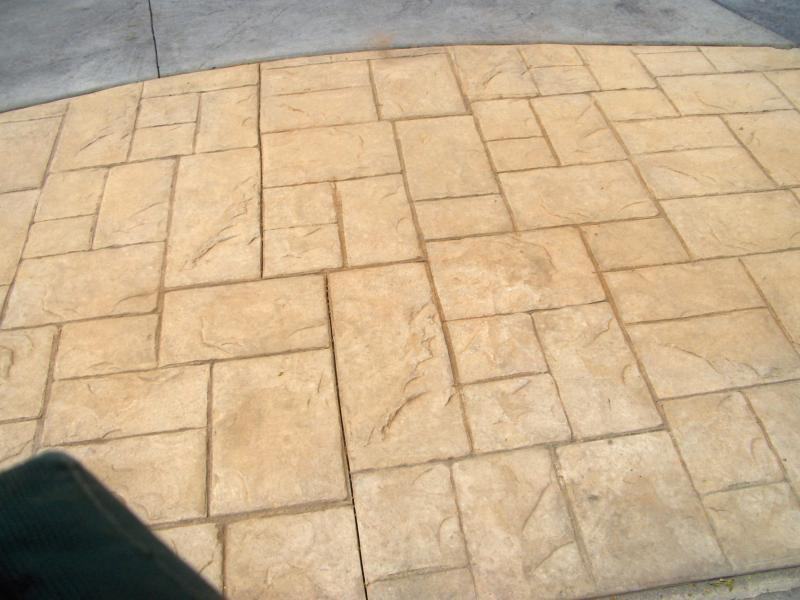 Ashlar Pattern - Buckskin Colors