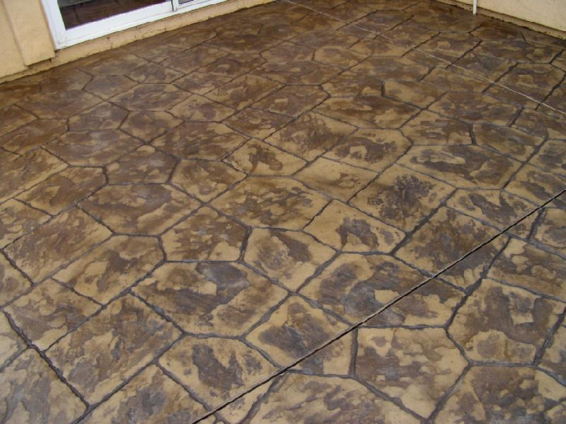 Castle Stone Pattern Patio