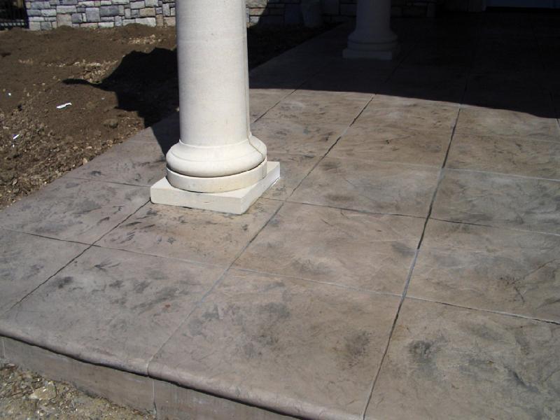 Roman Slate Patio