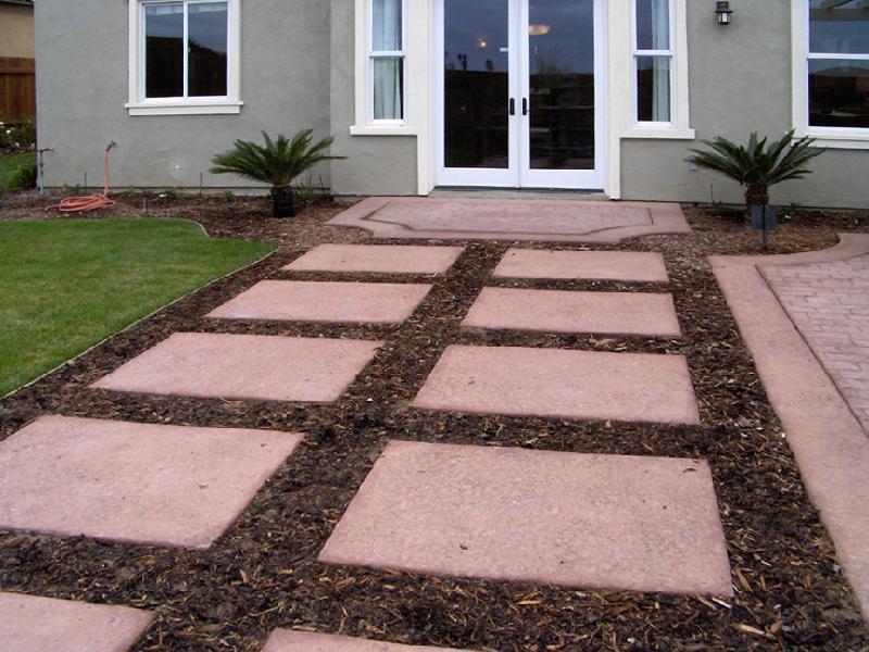 Slate Patio Steps