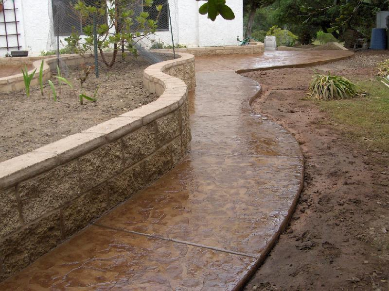 Slate Walkway - Brown