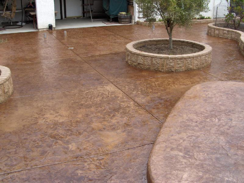 Slate Patio - Brown