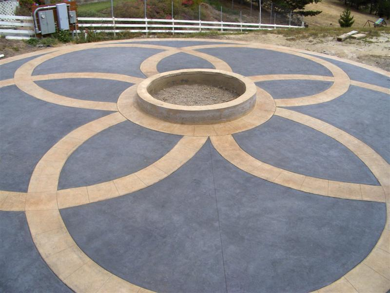 Slate Gray Field Color - Buckskin Circles