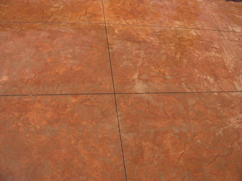 Terra Cotta / Copper Detail Shot