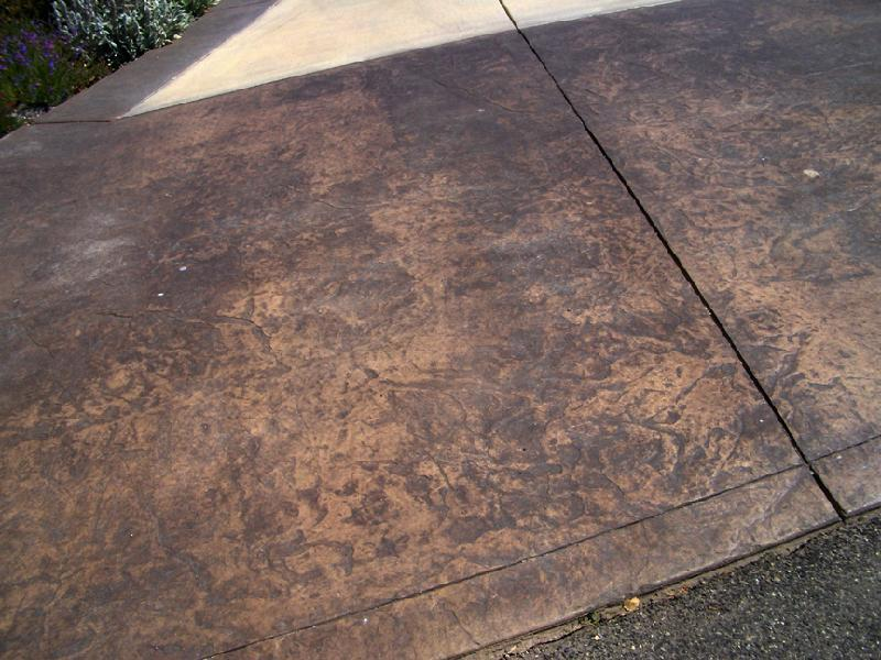 Stamped Seamless Decorative Concrete San Luis Obispo Ca