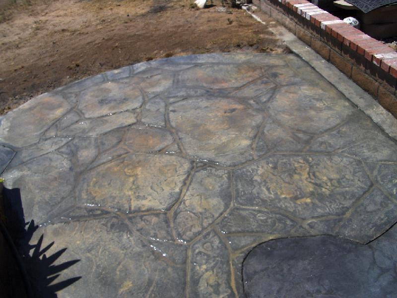 Flagstone Patio - Silver Smoke