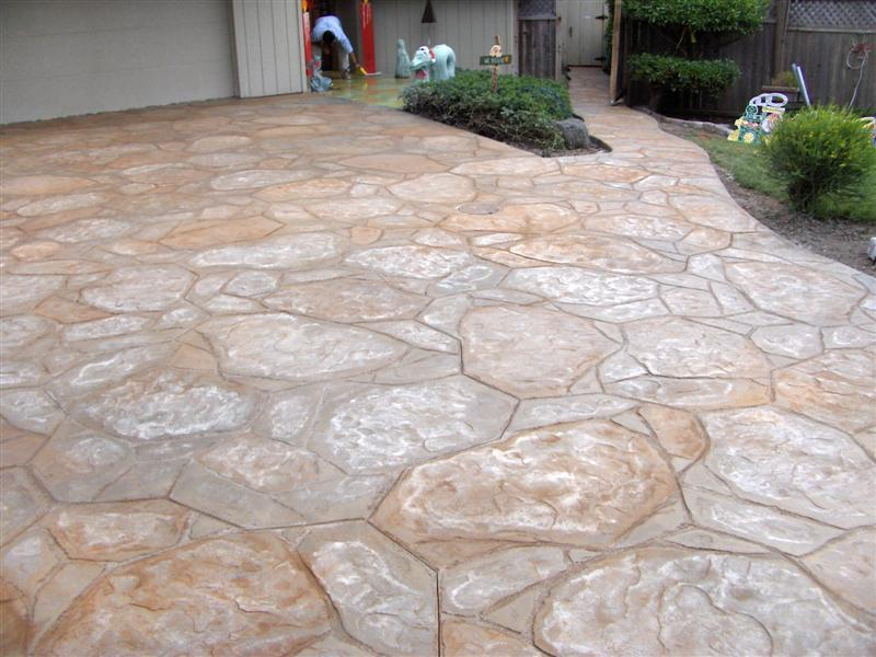 Flagstone Pattern - Light Washes