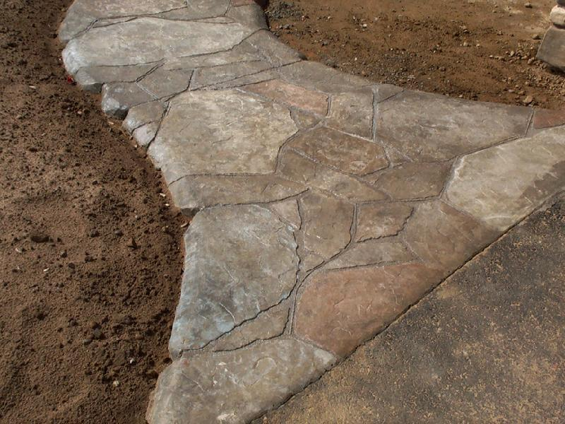 stone patterns decorative concrete san luis obispo ca stampman