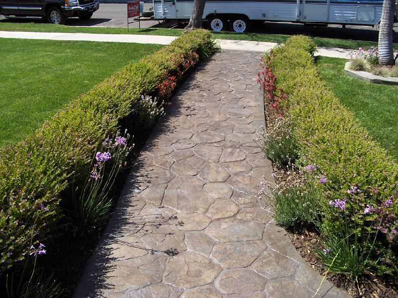 Random Stone Walkway