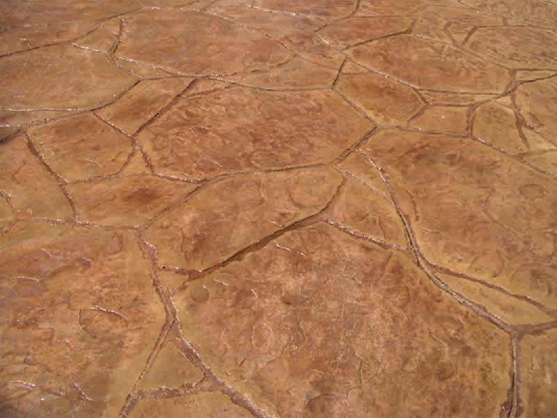 Flagstone Detail - Brown
