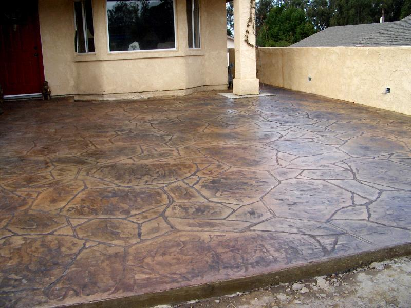 Beautiful Flagstone Pation U2013 Brown/Red